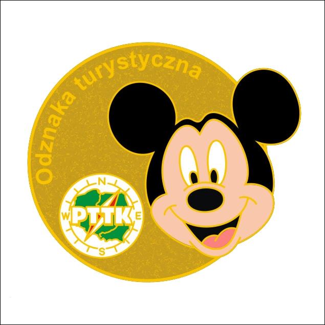 Odznaka Turystyczna Disney i PTTK