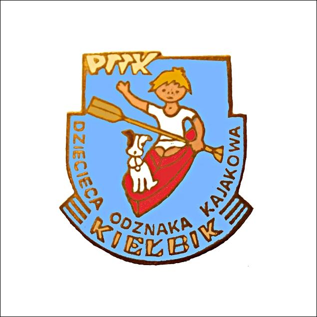 Dziecięca Odznaka Kajakowa PTTK Kiełbik